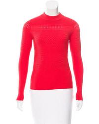 Carven Wool Blend Long Sleeve Sweater W Tags