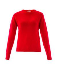 YMC Crew Neck Cashmere Wool Sweater