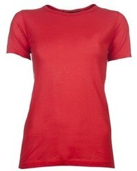 Red crew neck t shirt original 1312467