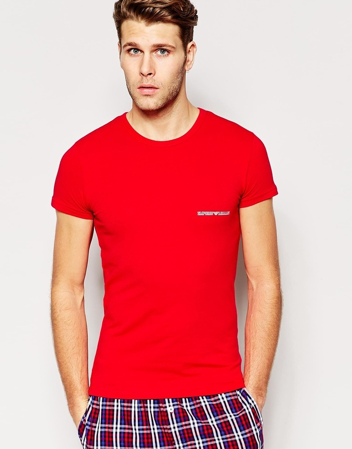 T Cotton Eagle Stretch How Where amp; Emporio Armani Big Buy Shirt To wTtqXXU