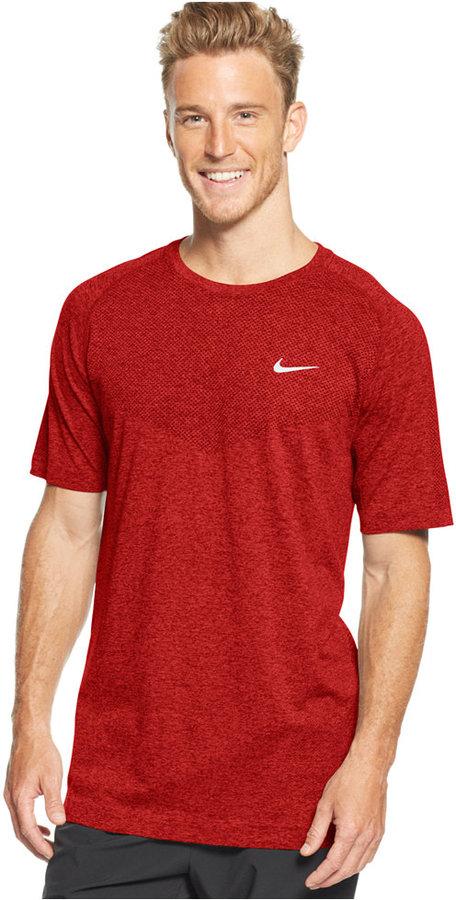 6f528fcabdf091 ... Nike Dri Fit Crew Neck Performance T Shirt