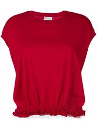 RED Valentino Gathered Layer T Shirt