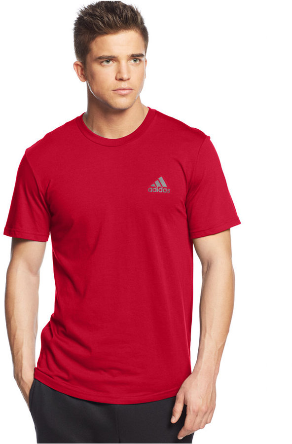 ... adidas Go To Performance Crew Neck T Shirt ... 6a8f4c7faed65