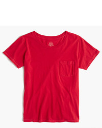 J.Crew Gart Dyed Pocket T Shirt