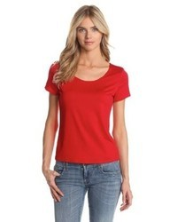 Notations Basic Round Neck T Shirt