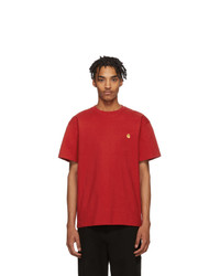 CARHARTT WORK IN PROGRESS Red Chase T Shirt