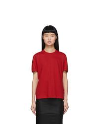 Fendi Red Forever T Shirt