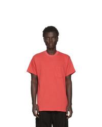 BILLY Red Joseph Pocket T Shirt