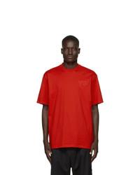 Y-3 Red Logo T Shirt