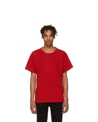 Amiri Red Shotgun T Shirt