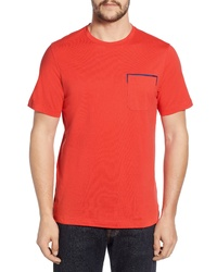 Bugatchi Regular Fit Pocket T Shirt