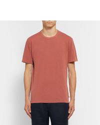 James Perse Slim-fit Cotton-jersey T-shirt - Pink OSHSjE