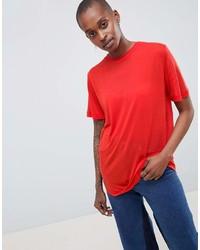 Asos White White 100% Lyocell T Shirt