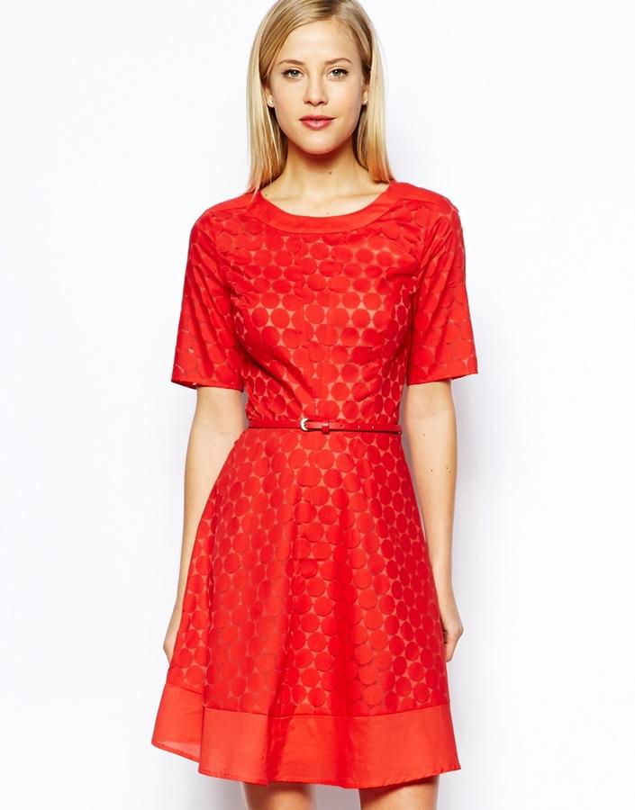 27bd9dac4d64 Oasis Crochet Lace Dress, $104 | Asos | Lookastic.com