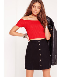 ac2a264a65471f Women's Red Cropped Tops from Missguided | Women's Fashion ...