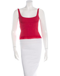Prada Sleeveless Crop Top