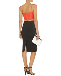 661d1eb8d2 ... Red Cropped Tops Alexander Wang T By Leather Bralet Alexander Wang T By Leather  Bralet ...