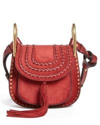 Chloé Chloe Mini Hudson Crossbody Bag Red