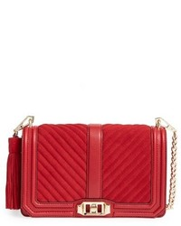 Rebecca Minkoff Love Crossbody Bag Red