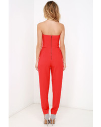 060870ecf7f ... Red Cutout Jumpsuits Adelyn Rae Electric Boogaloo Black Strapless  Jumpsuit Adelyn Rae Electric Boogaloo Black Strapless Jumpsuit ...