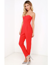 2b33e177970 ... Adelyn Rae Electric Boogaloo Black Strapless Jumpsuit