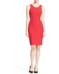 Elizabeth and James Emmy Cutout Back Sheath Dress