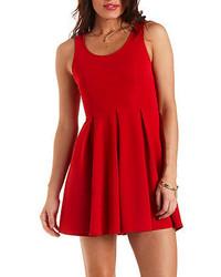 Heart cut out skater dress medium 133120