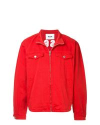 MSGM High Neck Denim Jacket