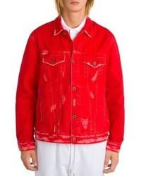 Off-White Long Sleeve Denim Jacket
