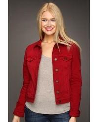 Red Denim Jean Jacket | Outdoor Jacket