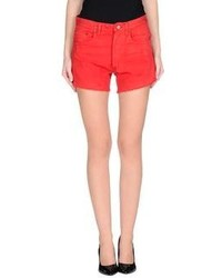 Red tab denim shorts medium 210480