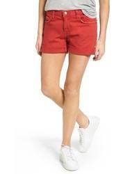 The boyfriend rolled denim shorts medium 4154508