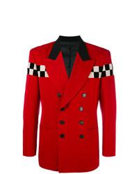 Chess panel blazer red medium 7131429