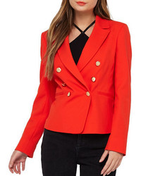 Miss Selfridge Double Breasted Blazer