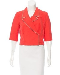 Nina Ricci Double Breasted Cropped Blazer W Tags