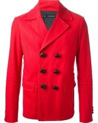 Double breasted short coat medium 34859