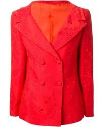 Versace Vintage Floral Brocade Blazer