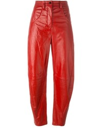 Kenzo Lambskin Mum Trousers