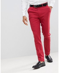 e8ea3125f8 Hugo Boss Heldor Extra Slim Fit Cotton Pants 30r Red Out of stock · ASOS  DESIGN Skinny Smart Trousers In Red