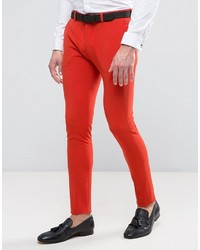 Red Dress Pants | Men's Fashion
