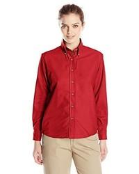 Red Kap Poplin Dress Shirt
