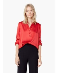 Mango Outlet Satin Shirt