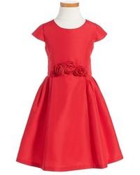 Girls Little Angels Cap Sleeve Dress