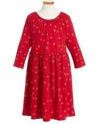 Tea Collection Girls Uzu Uzu Babydoll Dress