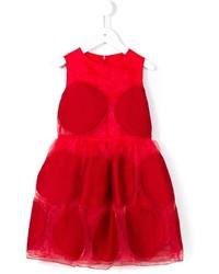 Simonetta Round Panel Dress