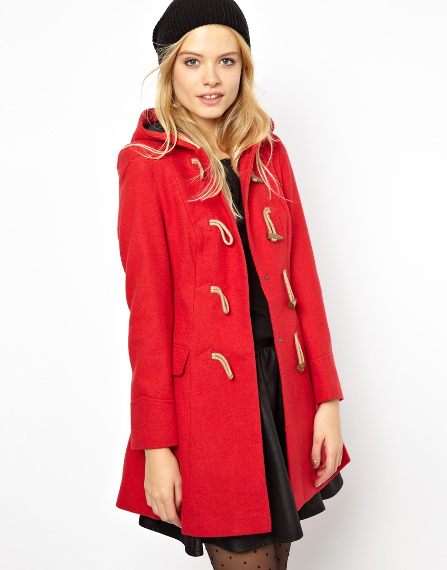 Buy red coat with hood – New Fashion Photo Blog