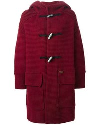 Bark knitted duffle coat medium 369757