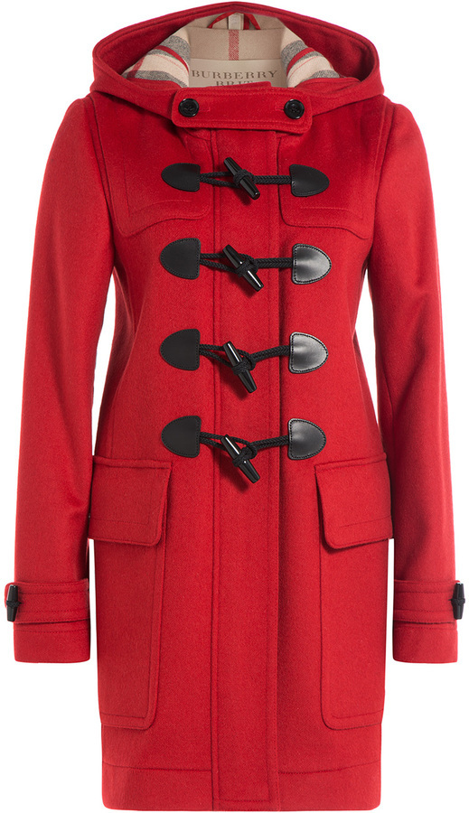 Burberry Brit Wool Duffle Coat | Where to buy & how to wear