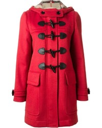 Burberry brit classic hooded duffle coat medium 369755
