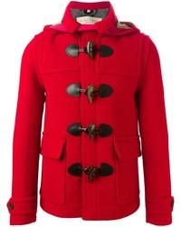 Burberry brit short duffle coat medium 383711